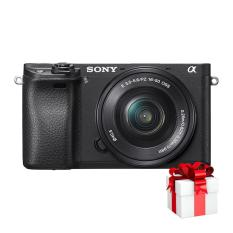 Sony Alpha A6300 24.2Mp với lens Kit 16-50mm (Đen) – Hãng Phân phối chính thức + Tặng Túi Sony + Thẻ SDHC 16GB