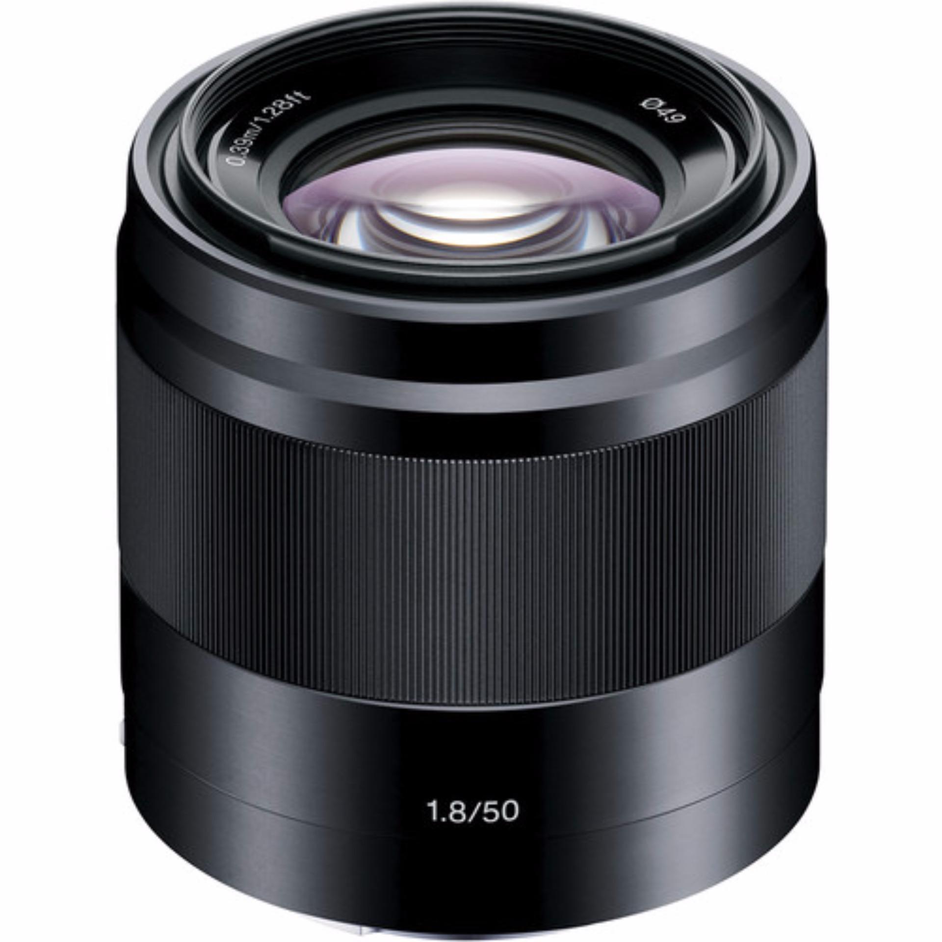 Sony SEL 50mm f/1.8 Đen