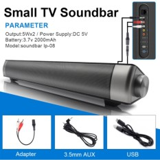 Loa Sound bar Loa siêu trầm 4 loa Brilliant IP-08 (Đen)