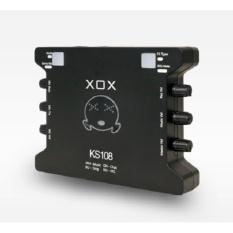 Sound Card Âm Thanh XOX K10 Phiên Bản Tiếng Anh XOX KS108