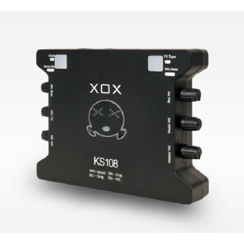 Bảng Giá Sound Card Âm Thanh XOX K10 Phiên Bản Tiếng Anh XOX KS108 Tại Thiết Bị Âm Thanh.