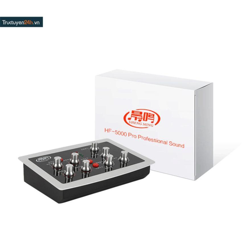Sound card thu âm auto tune HF-5000 Pro.