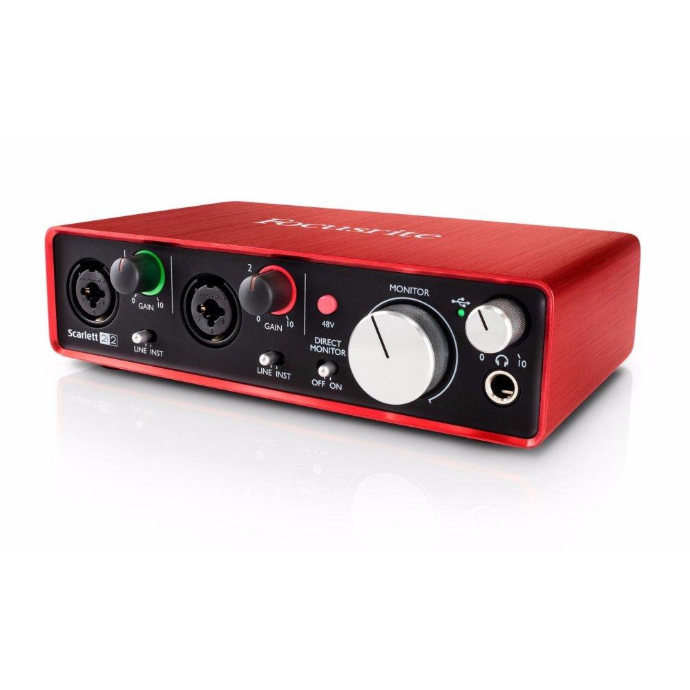 Nơi nào bán Sound card thu âm Focusrite Scarlett 2I2 [Gen 2]