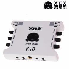 Sound Card Thu Âm XOX K10