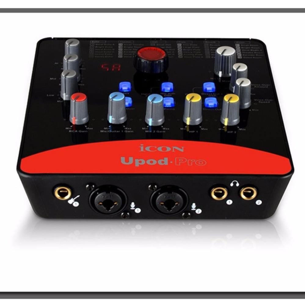 Sound card USB hát karaoke online ICON Upod Pro (Cam) Đang Bán Tại Thiết Bị Âm Thanh.