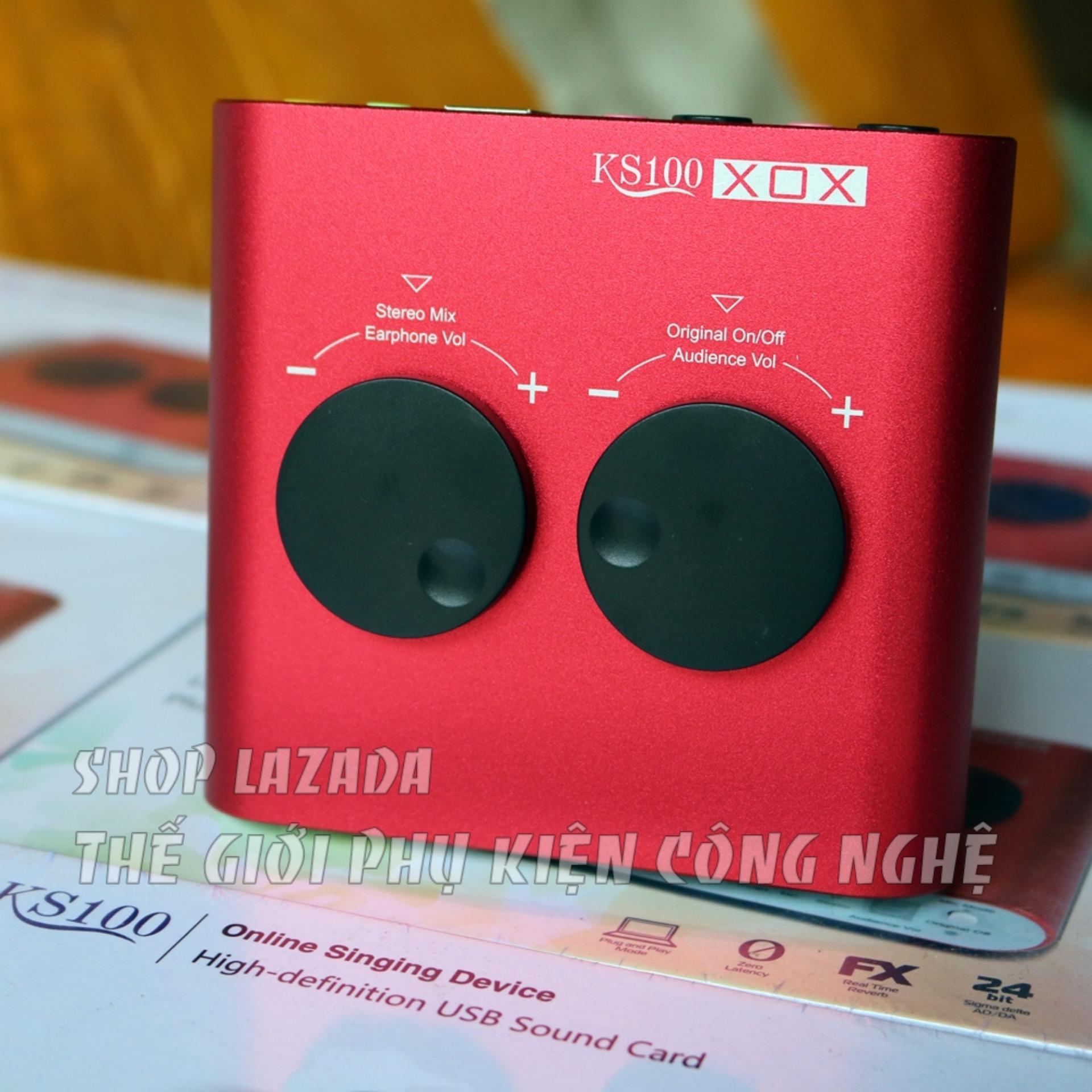 Chỗ nào bán soundcard xox ks100 bản Tiếng Anh karaoke online – livestream