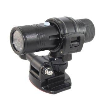 Sports Camera HD 1080P 30FPS 8MP 170A+ Wide-angle Lens DVR Helmet Action Camera Car DVR Water-Resistant - intl
