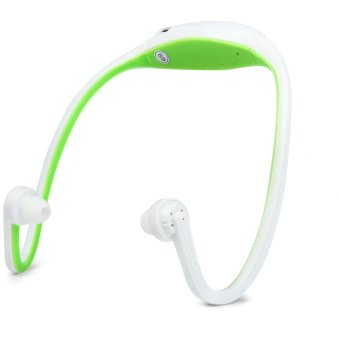 Sports S9 Bluetooth V3.0 Headphone (Green) - Intl - intl