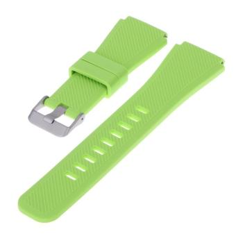 Sports Silicone Bracelet Strap Band For Samsung Gear S3 Watch(Lime) - intl