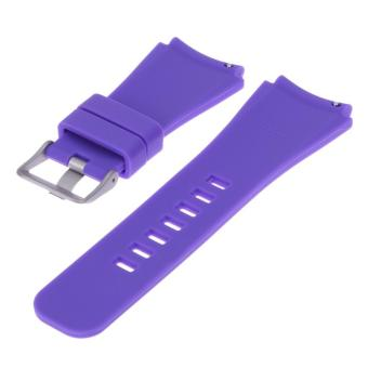 Sports Silicone Bracelet Strap Band For Samsung Gear S3 Watch(Purple) - intl