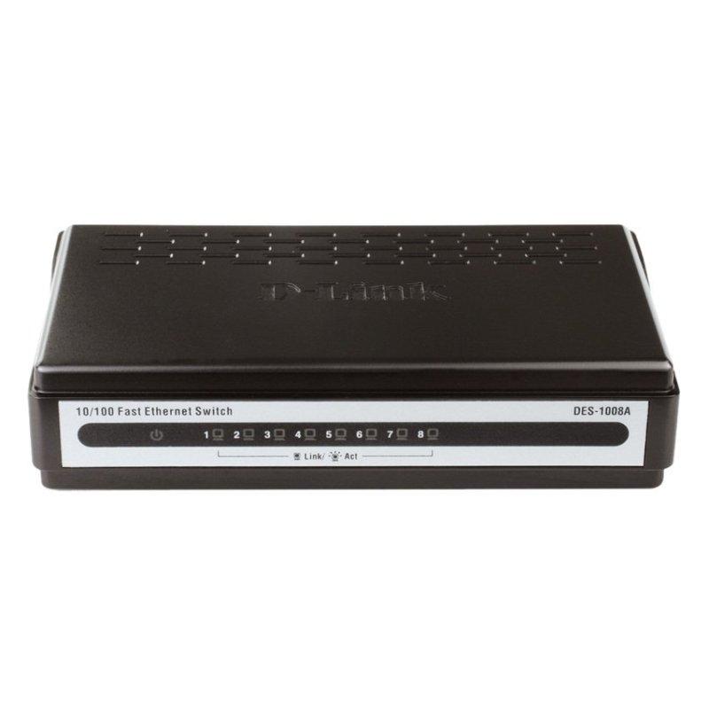 Bảng giá Switch D-Link DES-1008A 8 port (Đen) Phong Vũ