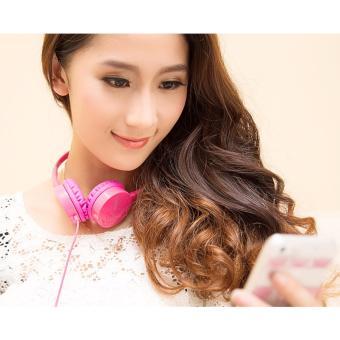 Tai nghe chụp tai cao cấp chính hãng Kanen IP600 (Hồng)