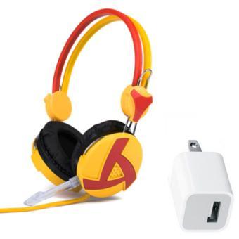 Tai nghe chụp tai có dây kèm micro Zidli Z-129 và tặng Cốc sạc
