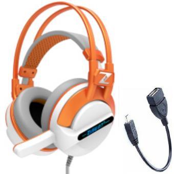 Tai nghe chụp tai có dây kèm micro Zidli ZH500 và tặng Cáp OTG