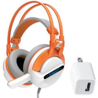 Tai nghe chụp tai có dây kèm micro Zidli ZH500 và tặng Cốc sạc