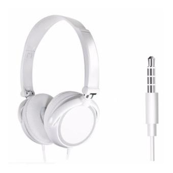 Tai nghe chụp tai F10 trắng ( Có thể gấp gọn)