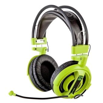 Tai nghe chụp tai kèm mic E-Blue EHS013GR (Xanh lá)