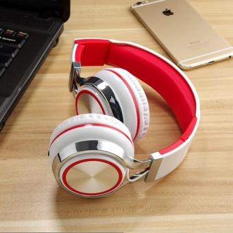 Tai nghe chụp tai lNGEL (Trắng đỏ) - Cloud Store - tai ngheheadphone