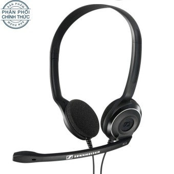 Tai nghe chụp tai Sennheiser PC 8 USB (Đen) - Hãng phân phối chính thức