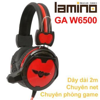 Tai nghe game thủ Lamino GA W6500 (Đỏ)