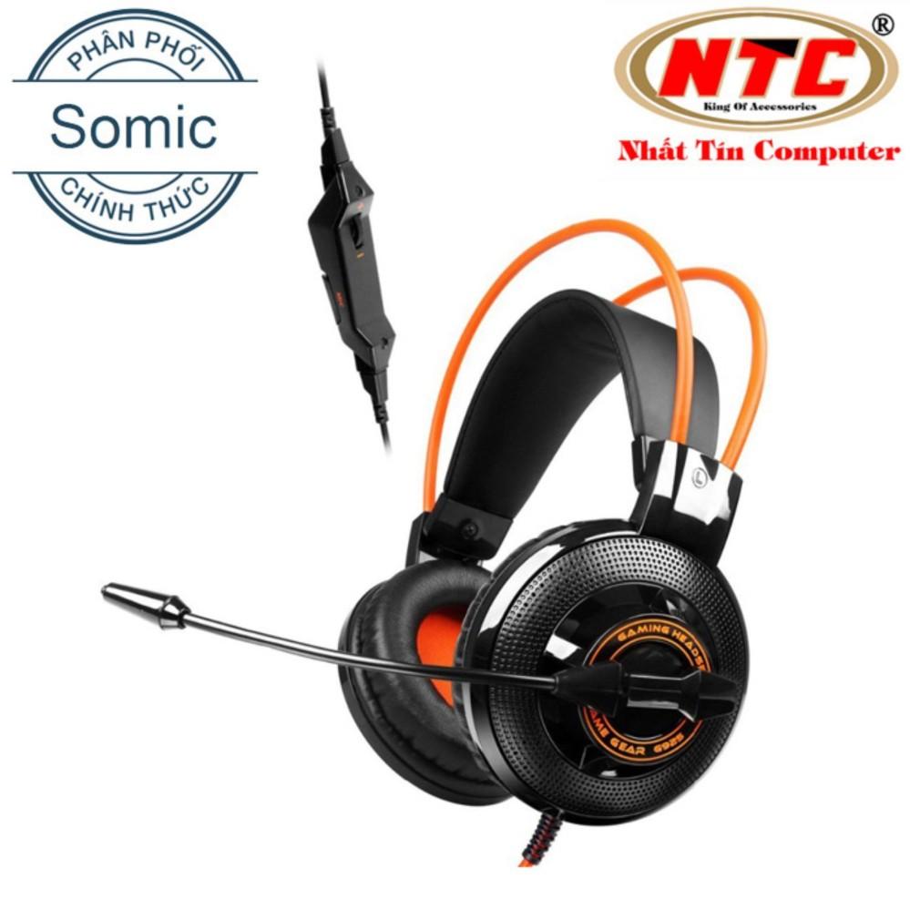 Đánh giá Tai nghe Gaming chụp tai kèm mic Somic G925 (Cam Đen) – Hãng phân phối chính thức Tại Nhất Tín Computer (Tp.HCM)