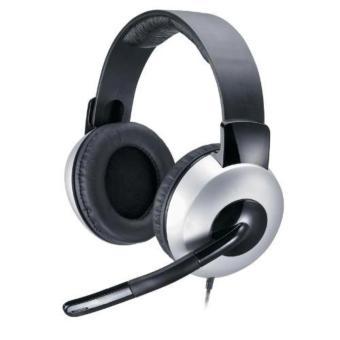 Tai nghe Genius chụp tai có mic HS-05A (Đen)- hàng nhập khẩu