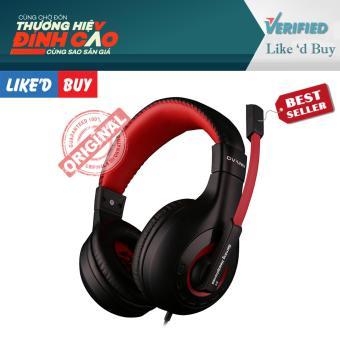 Tai nghe Headphone Ovann X4 mix đỏ đen