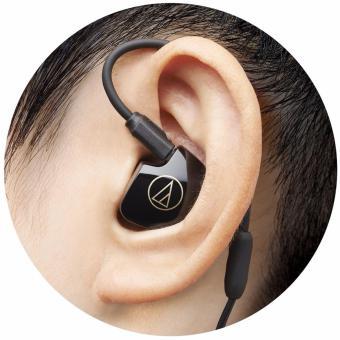 Tai nghe nhét tai chuyên nghiệp Audio Technica ATH-IM04 SonicPro Balanced (Đen)