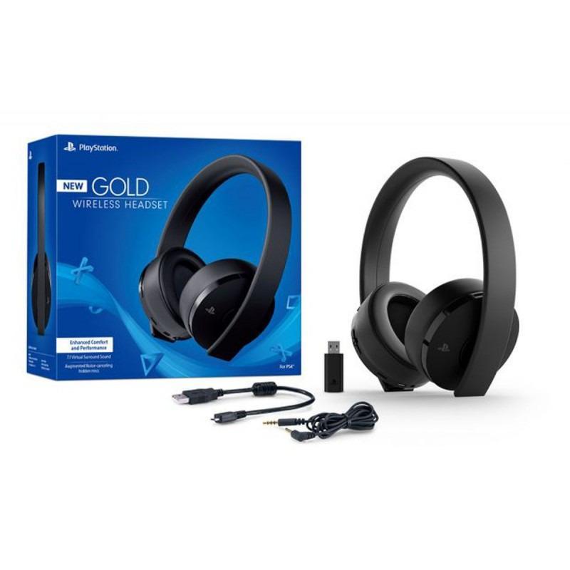 Tai nghe PlayStation® Gold Wireless 7.1 Headset Thế Hệ Mới Bản 2018