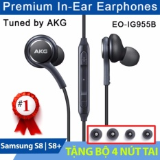Tai nghe Samsung Galaxy S8/S8 Plus AKG Zin -Tặng 04 nút tai (đen)