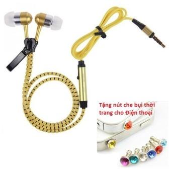 Tai nghe Thời trang Cao cấp Zipper (có khóa kéo chống rối) + TặngNút bịt chống bụi thời trang cho điện thoại - 8401710 , OE680ELAA5PA1OVNAMZ-10457703 , 224_OE680ELAA5PA1OVNAMZ-10457703 , 49600 , Tai-nghe-Thoi-trang-Cao-cap-Zipper-co-khoa-keo-chong-roi-TangNut-bit-chong-bui-thoi-trang-cho-dien-thoai-224_OE680ELAA5PA1OVNAMZ-10457703 , lazada.vn , Tai nghe Thời