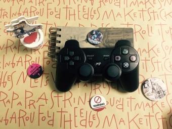 Tay cầm chơi game có dây rời kiểu PS3 Dualshock3 cho PC - 4