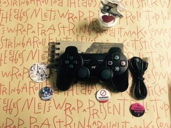 Tay cầm chơi game có dây rời kiểu PS3 Dualshock3 cho PC - 3