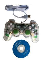 Tay cầm chơi game EW-702 (Xanh)