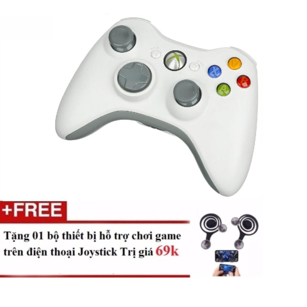 Tay cầm chơi game – giả lập trên PC tặng nút điều khiển mobile joy stick