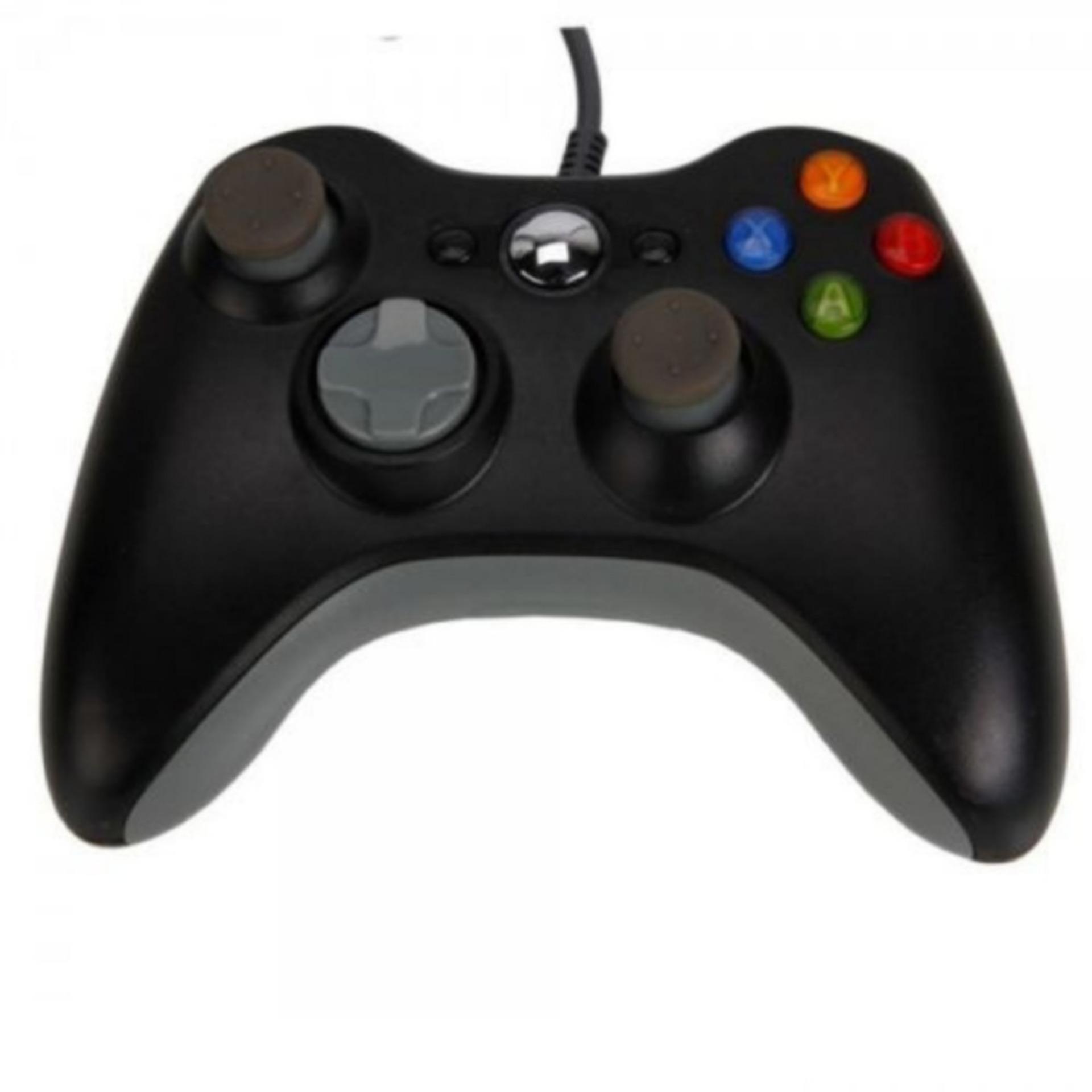 Tay Cầm Chơi Game Kết Nối USB Dành Cho Microsoft 360 Xbox Windows 7 - Quốc tế