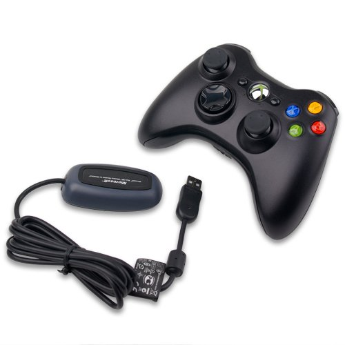 Giá bán Tay cầm chơi game Microsoft Xbox 360 Controller for Windows (Đen)