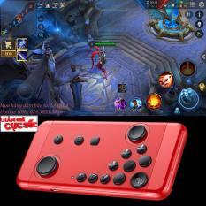 Tay cầm chơi game PC, cho iPhone và Android kết nối Bluetooth thế hệ mới (Đỏ)