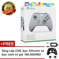 Nơi Bán Tay cầm chơi game Xbox One S Gray/Green (nhập khẩu US)