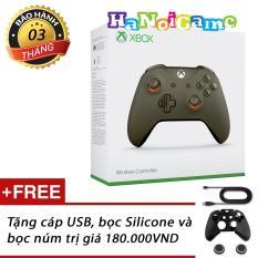 Cập Nhật Giá Tay cầm chơi game Xbox One S Green/Orange (nhập khẩu US)