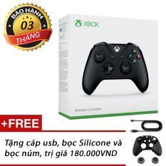 Tay chơi game Xbox One S (Đen)