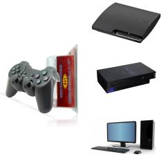 Tay game không dây cho PS2 PS3/ PS3 Slim và PC