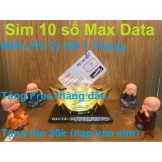 Thánh Sim Vietnamobile Maxdata – Sim Chuẩn 4G