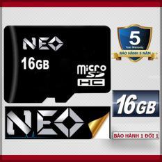 Giá Niêm Yết Thẻ nhớ 16GB NEO micro SDHC – Chính hãng