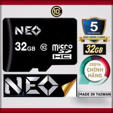 Thẻ nhớ 32GB NEO MicroSDHC Class 10 – Chính hãng