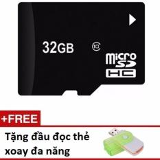 Thẻ nhớ micro SD 32G tặng đầu đọc thẻ đa năng