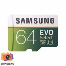 Thẻ nhớ MicroSD Evo Select Samsung 64 GB