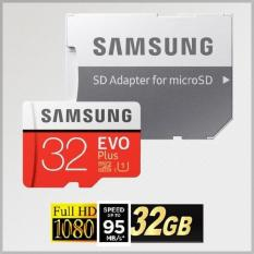 Thẻ nhớ MicroSDHC Samsung EVO Plus 32GB 95MB/s Adapter (Màu đỏ)