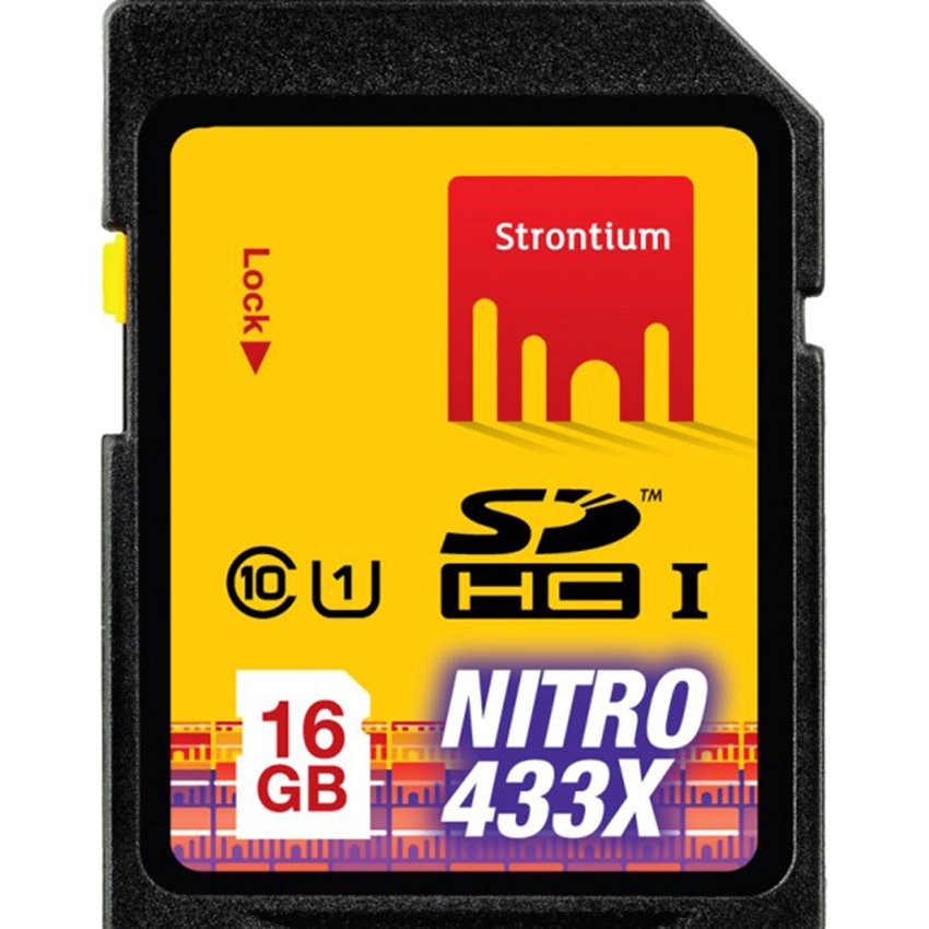 Thẻ nhớ SD Strontium Nitro 16GB (Đen)