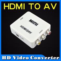 Thiết bị chuyển đổi HDMI sang AV Full HD 1080p trắng Gia Bách